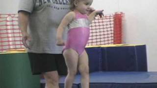 2 and 3 year old gymnastics montage