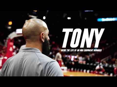 Tony: Inside The Life Of An NBA Equipment Manager