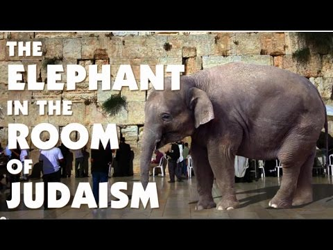 The ELEPHANT in the ROOM of JUDAISM