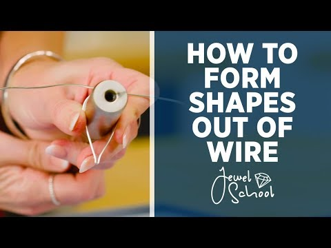 How to Form Shapes Out of Wire | Jewelry 101