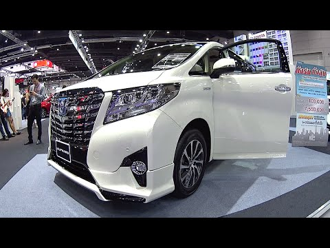 Best VAN 2016, 2017 - Toyota Alphard 2016, 2017 model Video review New Generation