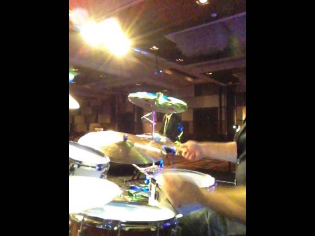 Betcha By Golly Wow - Chad Sylva Drum Cam - Rumi Awards