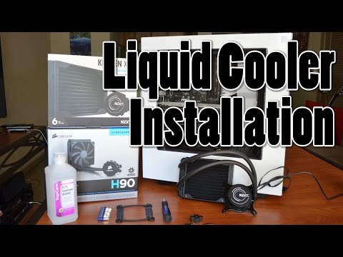 How To Install An AIO Liquid Cooler