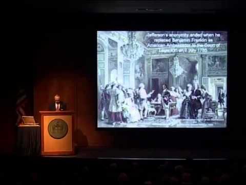 James Thompson- Banner Lecture at Virginia Historical Society, Thomas Jefferson- Paris