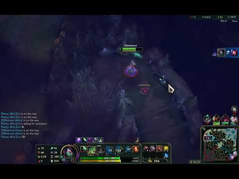 How to play akali with nooob mid and jg lol