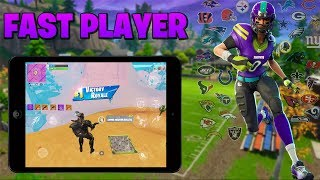 Fortnite Mobile Player/ NEW NFL SKINS TONIGHT!/ Decent Builder/ 230 ' Wins/