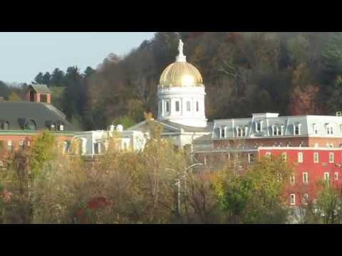 Montpelier, the capitol city of Vermont USA
