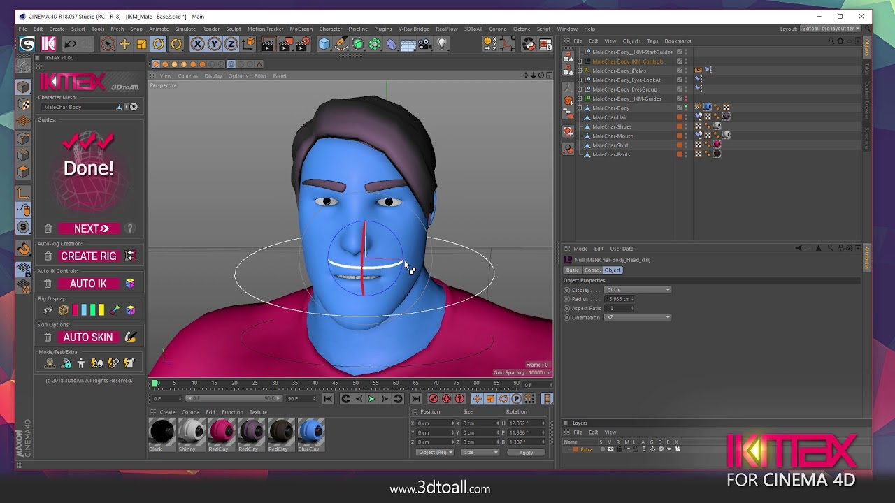 IKMAX for Cinema 4D – 3DtoAll