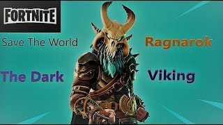 Fortnite New Mystic outlander Ragnarok The Dark Viking Save The World Gameplay