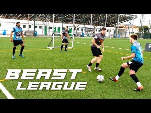 PARTIDOS de FUTBOL ( LIGA de YOUTUBERS Y SUSCRIPTORES) Beast League FTO 2 vs 2 JORNADA 1
