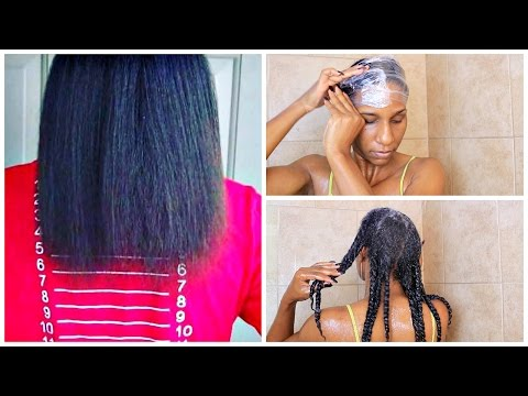 HOW TO GROW YOUR HAIR OVERNIGHT! | 1 INCH IN 1 DAY!!!