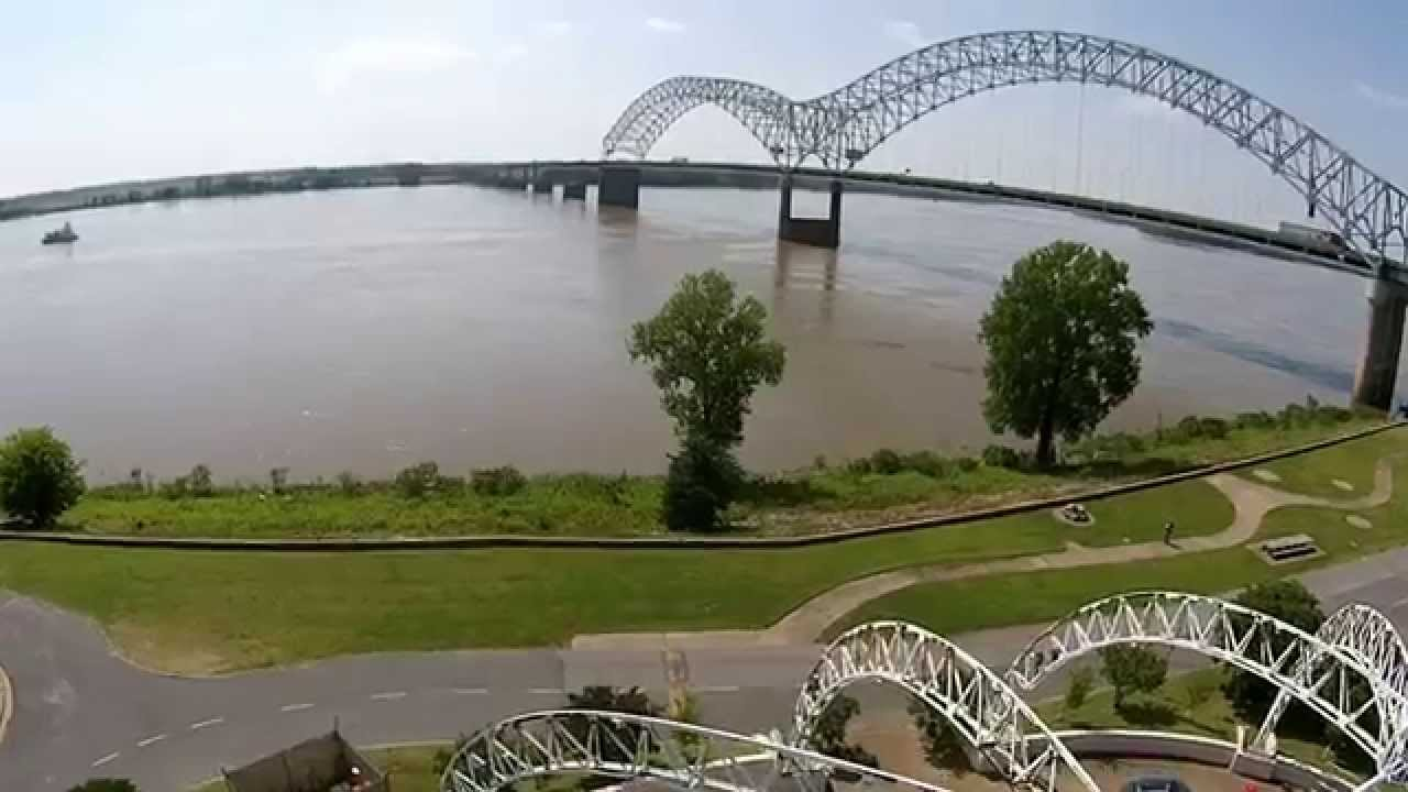 Mud island river park memphis tennessee youtube for Mud island memphis