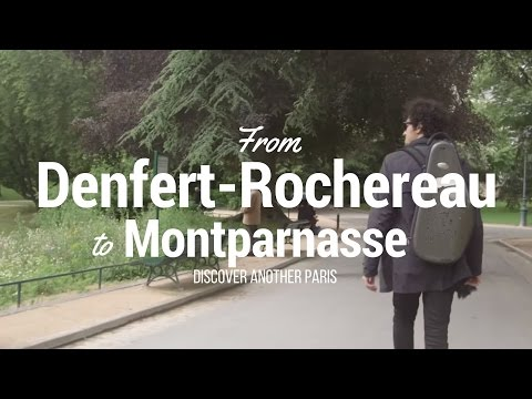 From Denfert Rochereau to Montparnasse - discover another Paris