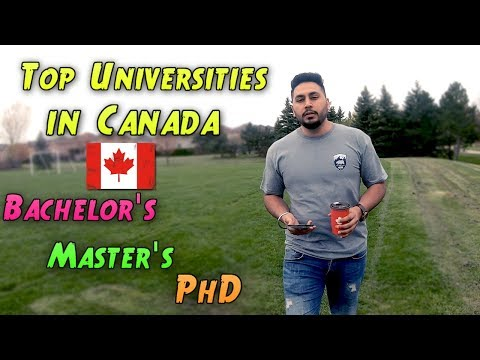 Top Universities In Canada For Bachelors Masters And Phd Programs