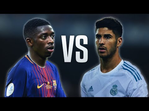 Ousmane Dembele vs Marco Asensio - Skills & Goals 2017/18 HD thumbnail