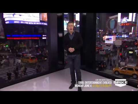 Xbox at E3 2012: Entertainment Evolved on Spike TV Extended Promo