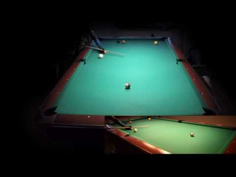 10 ball problem rack run out #81 two views