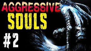 AGGRESSIVE SOULS | Part 2 | Nicht ganz so leichte Abkürzung | Dark Souls Mod