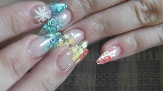 Dual nail forms / быстрое наращивание ногтей (верхние формы)