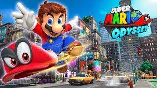 ????CIEMNA STRONA KSIĘŻYCA?! - Super Mario Odyssey [LIVE] - Na żywo