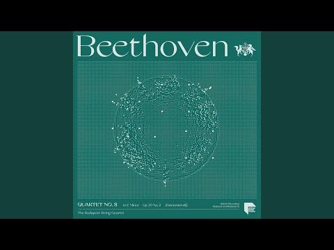 """Quartet No. 8 In E Minor, Op. 59 No. 2 """"Rasoumovsky"""": III. Allegretto"""