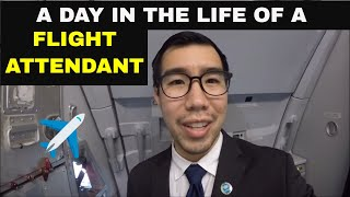 Gambar cover A Day in the Life of a Flight Attendant: A 3 Flight Work Day