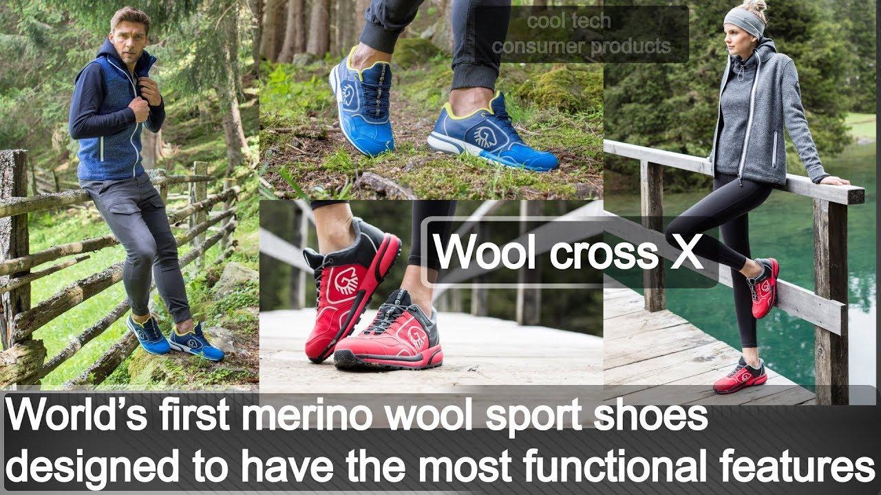 WOOL CROSS X: Outdoor running sport shoes for women & men for best sport running sneaker shoes