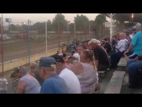 USAC Sprint Car B Main Part 2/2  Terre Haute Action Track