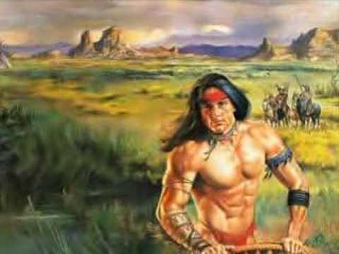 Célèbre Indiens d'Amérique - YouTube ZU95