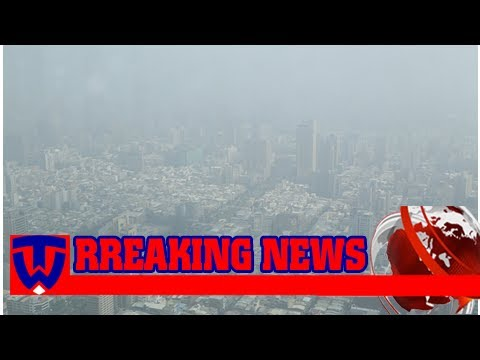 Red air alert for thick smog in kaohsiung