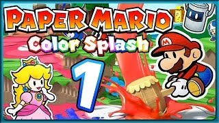 PAPER MARIO: COLOR SPLASH Part 1: Farblose Insel Prisma