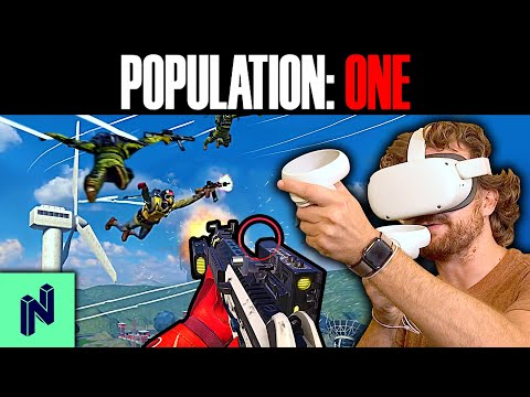 WARZONE + FORTNITE + VR = The Best Battle Royale Game We've Ever Played!
