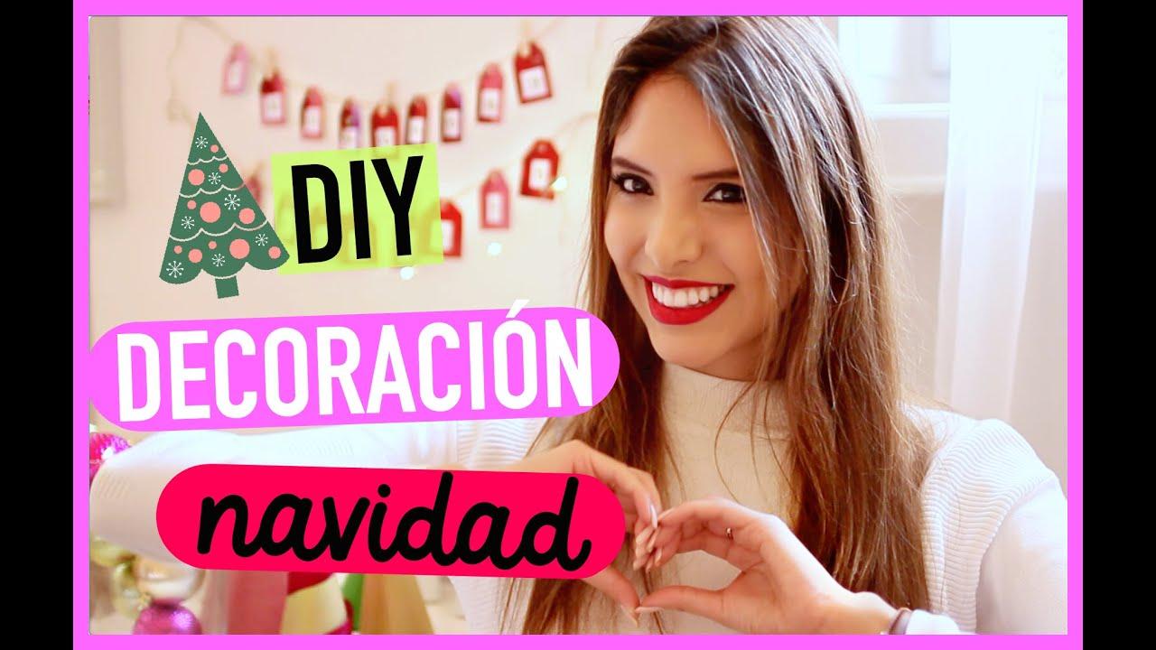 DIY: DECORA TU CUARTO PARA NAVIDAD + SORTEO INT. | Valeria Basurco