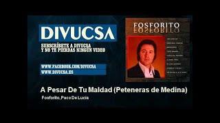 Fosforito, Paco De Lucía - A Pesar De Tu Maldad - Peteneras de Medina