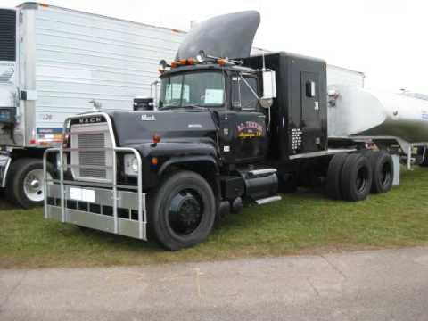 ATHS Show - Rubber Duck Truck, Mack, Peterbilt, GMC, Kenworth