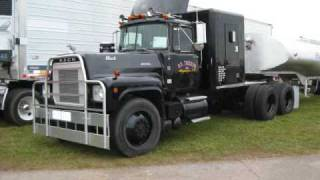ATHS Show - Rubber Duck Truck, Mack, Peterbilt, GMC, Kenworth
