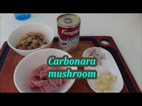 CARBONARA MUSHROOM