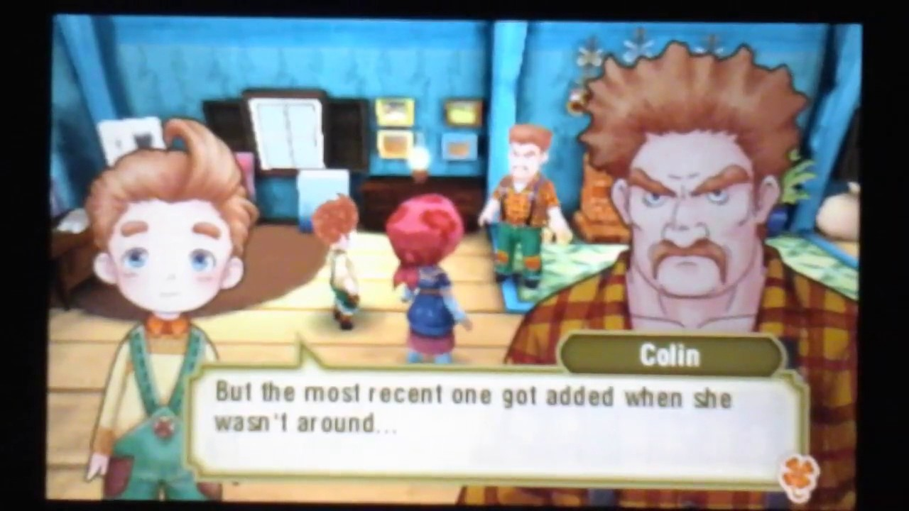 Story of seasons trio of towns colin s friend event the