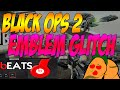 Black Ops 2 Glitches - How To Copy Other Players Emblems Tutorial 2015