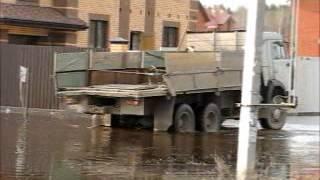 Шевроле Нива утонула в Угре(, 2012-04-21T19:33:24.000Z)