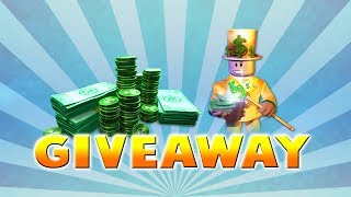 GRATUIT ROBUX GIVEAWAY / GIVING AWAY ROBUX EVERY FEW MINUTES / ROBLOX
