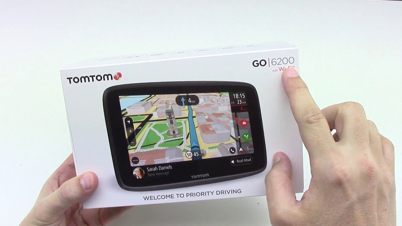 tomtom go 6200 lm world unboxing hd youtube. Black Bedroom Furniture Sets. Home Design Ideas