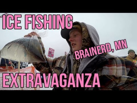 Biggest Ice Fishing Contest In The World: Brainerd Jaycees Ice Fishing Extravaganza