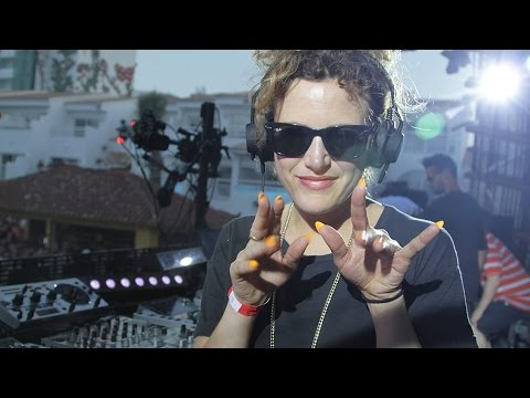 Annie Mac (Radio 1 in Ibiza 2014)
