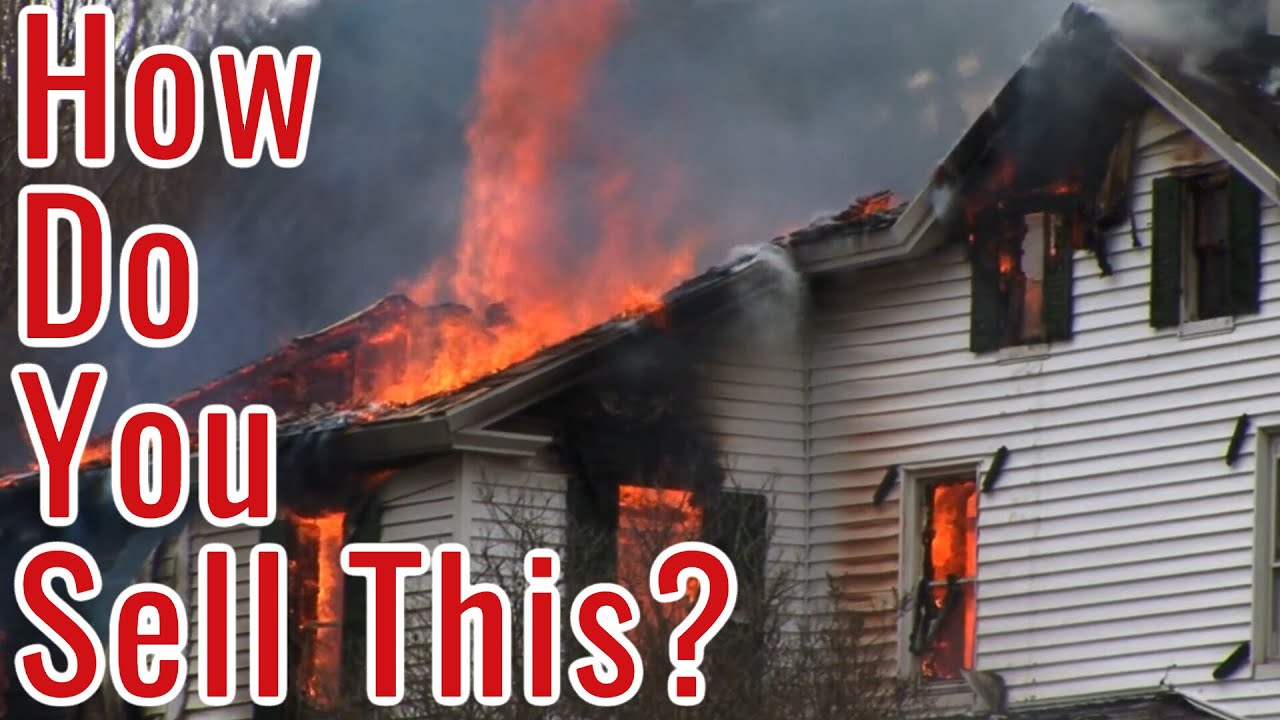Selling a Fire Damaged House in Atlanta