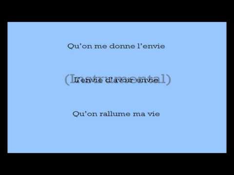 L'envie - Johnny Hallyday: Instrumental + Paroles