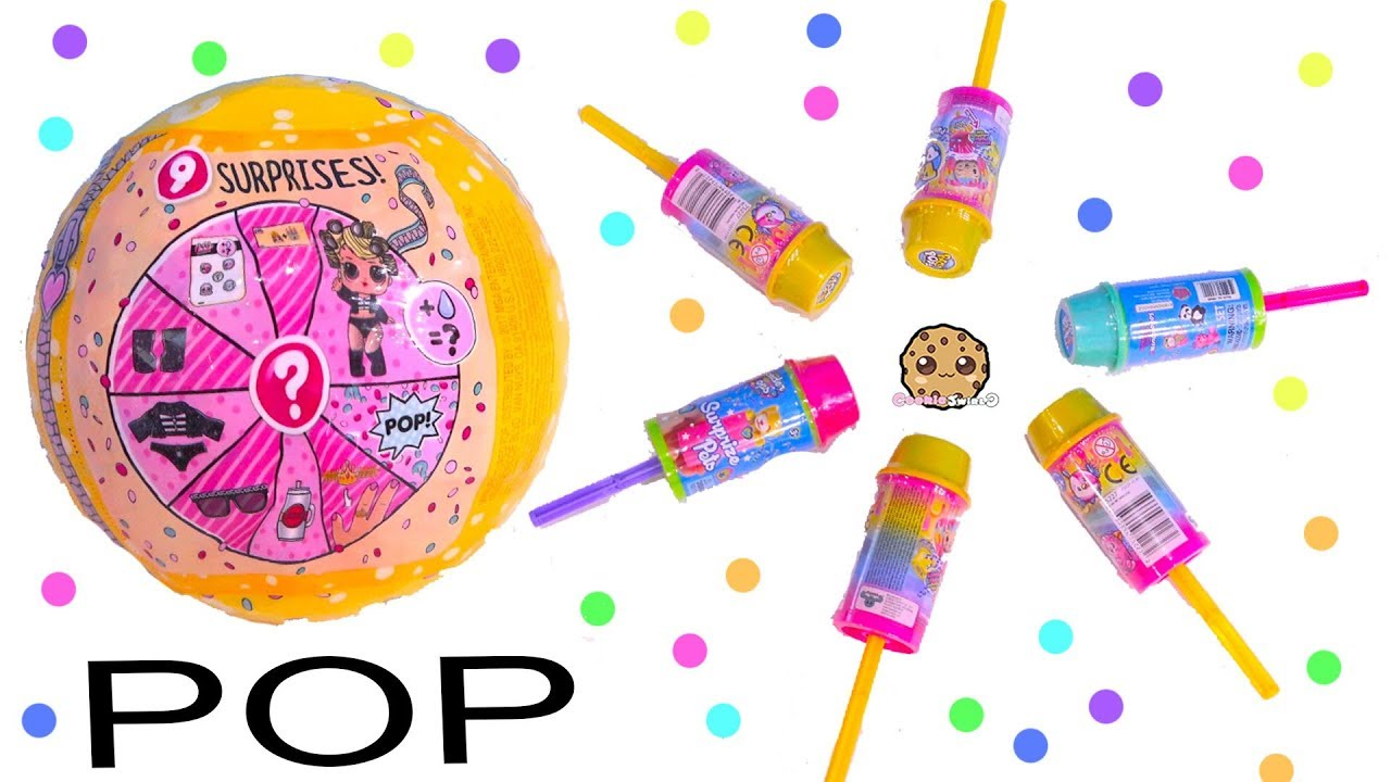Download POP Toy Blind Bags ! LOL Surprise , Scented Pikmi Pops - Cookie Swirl C