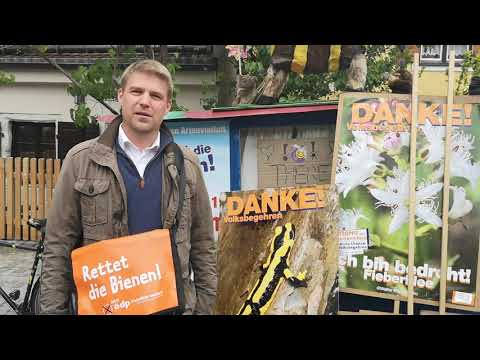 Voller Erfolg für die ÖDP - Erste Lesung im Bayerischen Landtag zum Artenschutz