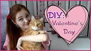 DIY День Святого Валентина/Подарки своими руками ♡