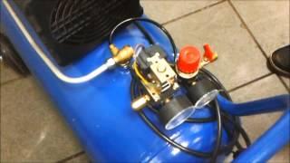Tuzatish reciprocating kompressor pressostat